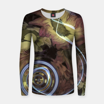 Thumbnail image of The Sound Of Waving Flowers Women sweater, Live Heroes