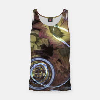 Thumbnail image of The Sound Of Waving Flowers Tank Top, Live Heroes