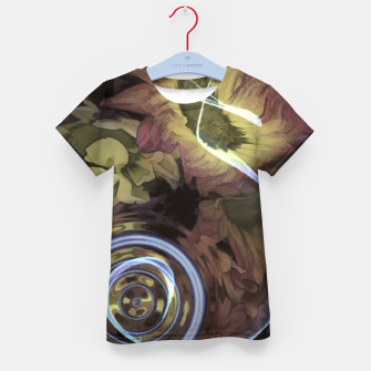 Thumbnail image of The Sound Of Waving Flowers Kid's t-shirt, Live Heroes