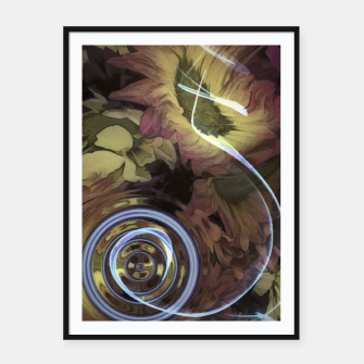 Thumbnail image of The Sound Of Waving Flowers Framed poster, Live Heroes