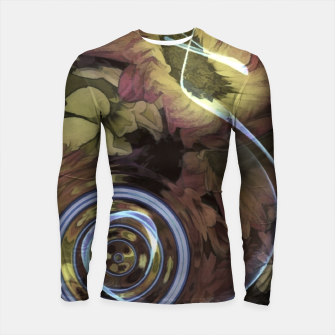 Thumbnail image of The Sound Of Waving Flowers Longsleeve rashguard , Live Heroes