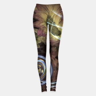 Thumbnail image of The Sound Of Waving Flowers Leggings, Live Heroes