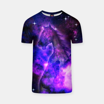 Thumbnail image of Cosmic Stallion T-Shirt, Live Heroes