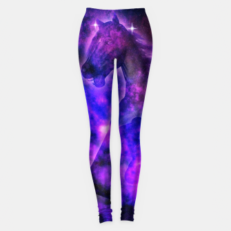 Thumbnail image of Cosmic Stallion Leggings, Live Heroes