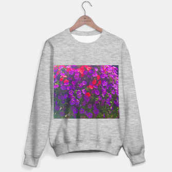 Miniaturka Pile of Purple Petunias Sweater regular, Live Heroes
