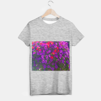 Thumbnail image of Pile of Purple Petunias T-shirt regular, Live Heroes