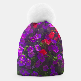 Thumbnail image of Pile of Purple Petunias Beanie, Live Heroes