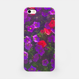 Imagen en miniatura de Pile of Purple Petunias iPhone Case, Live Heroes