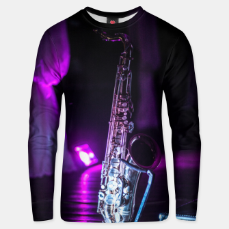 Thumbnail image of Sax Unisex sweater, Live Heroes
