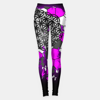 Miniatur Plant Of Life Leggings, Live Heroes