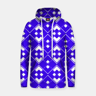 Imagen en miniatura de Abstract geometric pattern - blue and white. Hoodie, Live Heroes