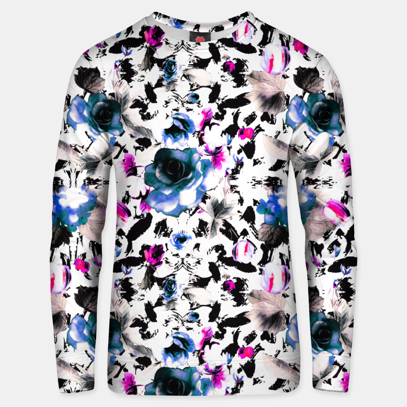 Image of Flowery abstract strokes 2 Sudadera unisex - Live Heroes