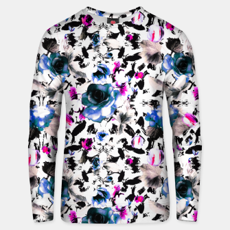 Thumbnail image of Flowery abstract strokes 2 Sudadera unisex, Live Heroes
