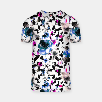 Flowery abstract strokes 2 Camiseta thumbnail image
