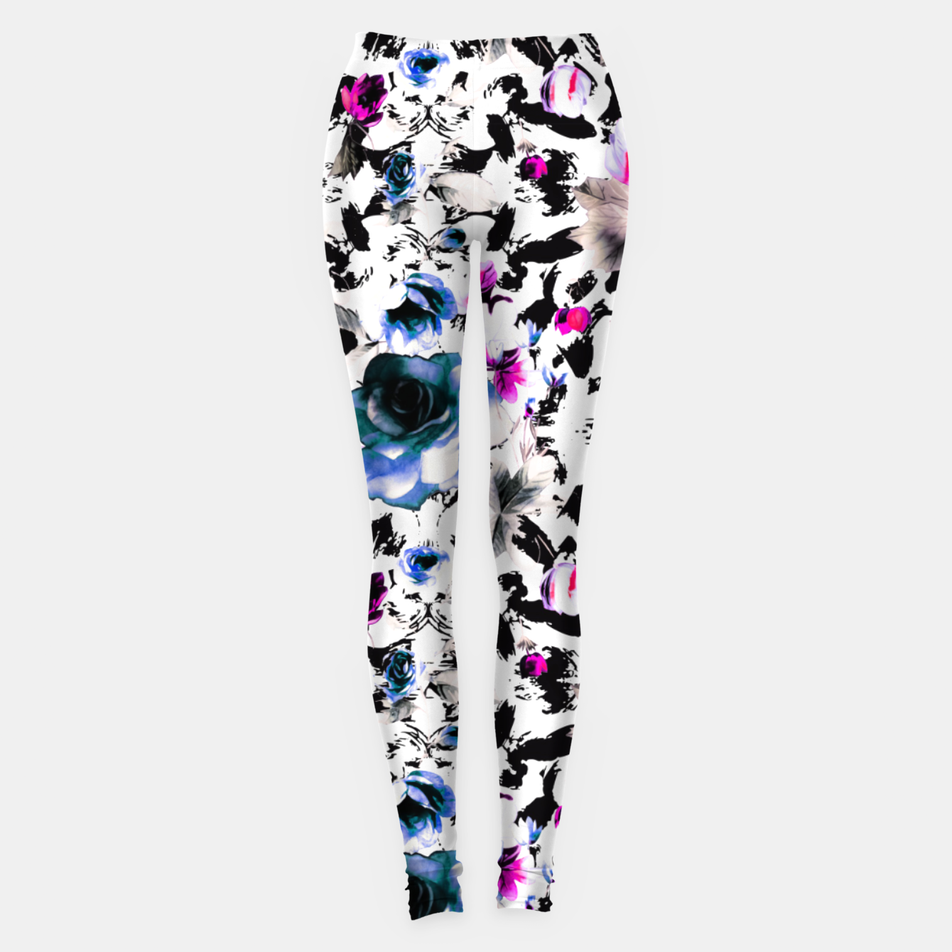 Image of Flowery abstract strokes 2 Leggings - Live Heroes