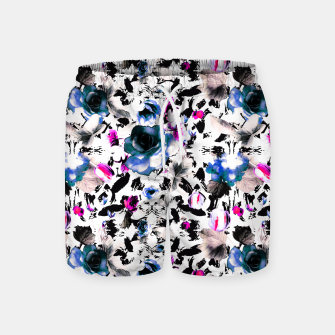 Thumbnail image of Flowery abstract strokes 2 Pantalones de baño, Live Heroes
