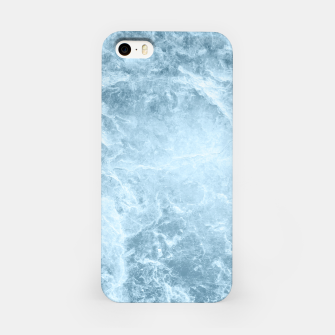 Imagen en miniatura de Enigmatic Light Blue Marble #1 #decor #art  iPhone-Hülle, Live Heroes