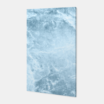 Miniatur Enigmatic Light Blue Marble #1 #decor #art  Canvas, Live Heroes