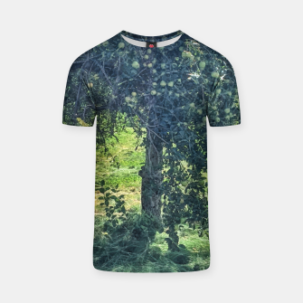 Miniatur Green Apple Tree T-shirt, Live Heroes