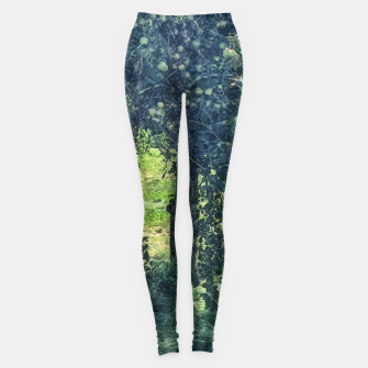 Thumbnail image of Green Apple Tree Leggings, Live Heroes