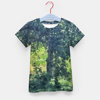 Thumbnail image of Green Apple Tree Kid's t-shirt, Live Heroes