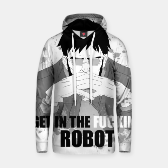 Miniaturka Get in to the fucking robot Sudadera con capucha, Live Heroes