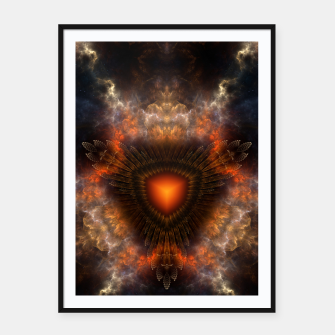 Thumbnail image of Sun Star Cube Framed poster, Live Heroes