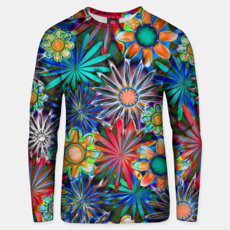 Thumbnail image of Tropical Daisies Unisex sweater, Live Heroes