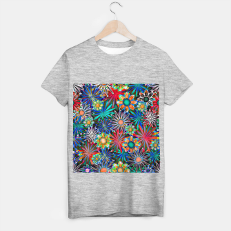 Thumbnail image of Tropical Daisies T-shirt regular, Live Heroes