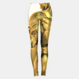 Thumbnail image of Male Golden Bodybuilder Leggings, Live Heroes
