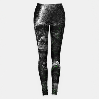 Thumbnail image of GORILLA (vegan animals) Leggings, Live Heroes