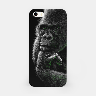 GORILLA (vegan animals) iPhone-Hülle thumbnail image