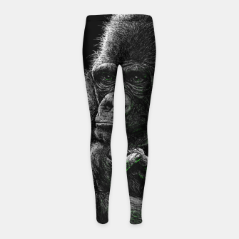 GORILLA (vegan animals) Kinder-Leggins thumbnail image