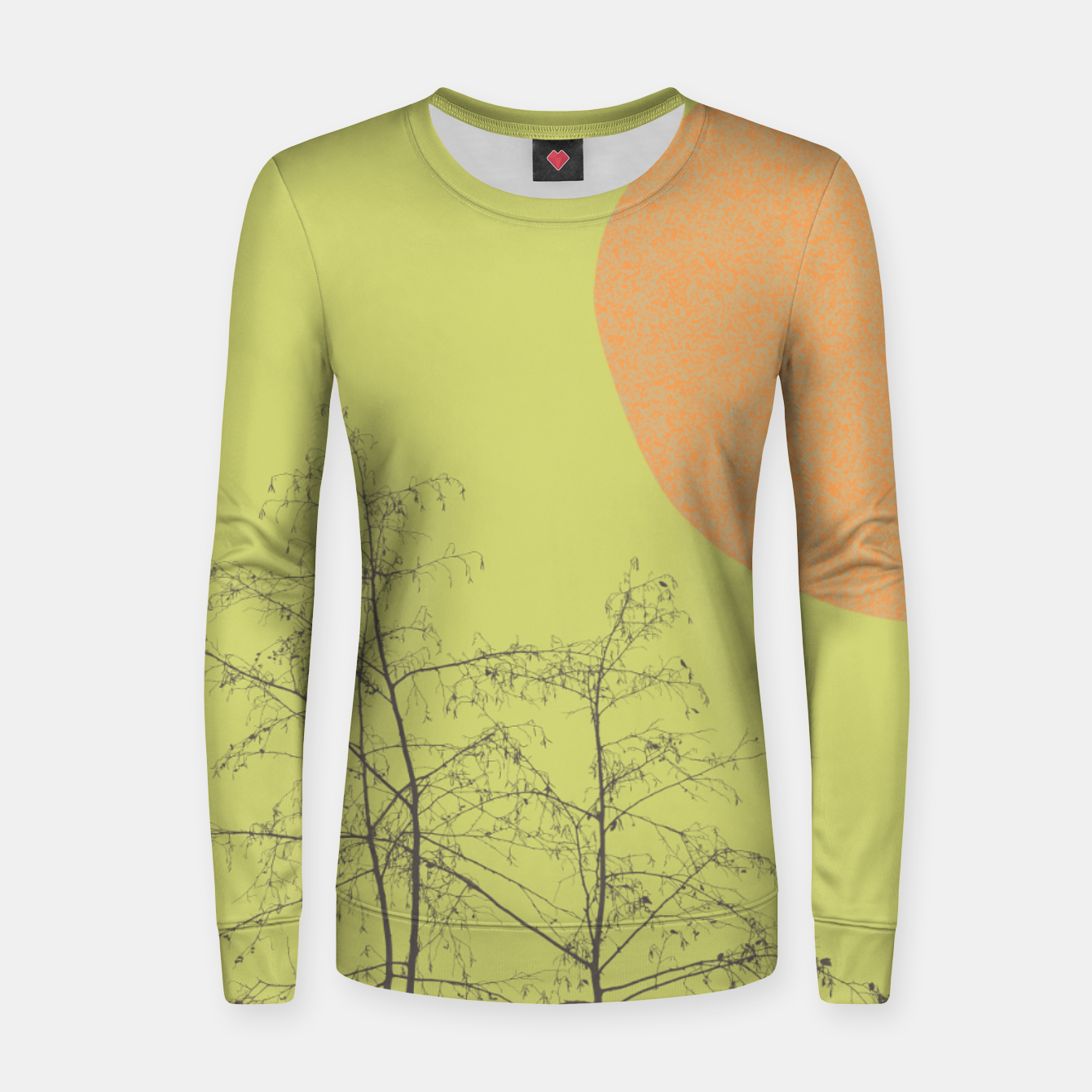 Foto Trees and shape Women sweater - Live Heroes