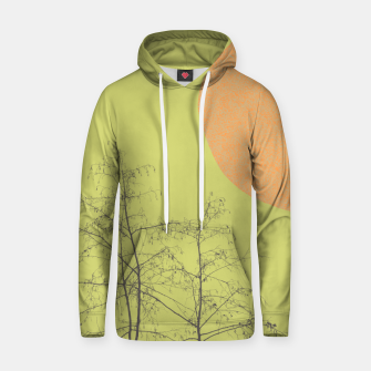 Trees and shape Hoodie Bild der Miniatur