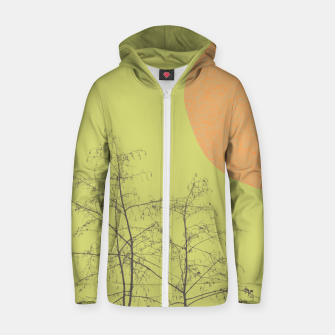 Trees and shape Zip up hoodie Bild der Miniatur