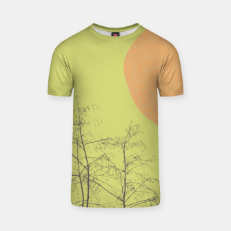 Trees and shape T-shirt Bild der Miniatur