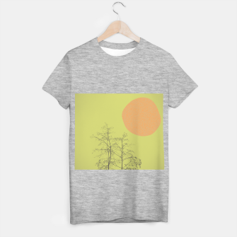 Miniatur Trees and shape T-shirt regular, Live Heroes