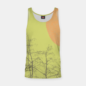 Miniatur Trees and shape Tank Top, Live Heroes
