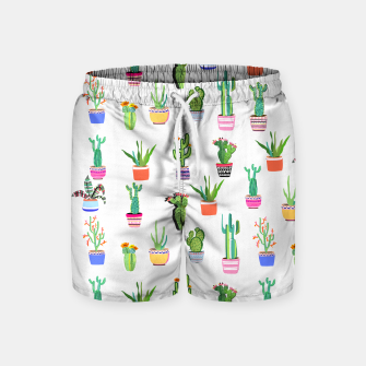 Thumbnail image of Cacti Land 2 Swim Shorts, Live Heroes