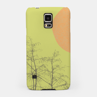 Trees and shape Samsung Case Bild der Miniatur