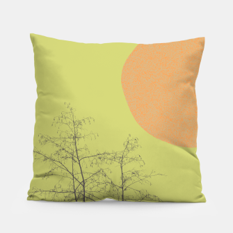 Trees and shape Pillow Bild der Miniatur