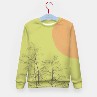 Trees and shape Kid's sweater Bild der Miniatur