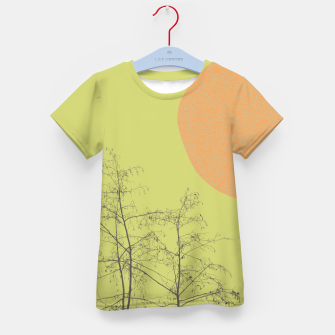 Trees and shape Kid's t-shirt Bild der Miniatur
