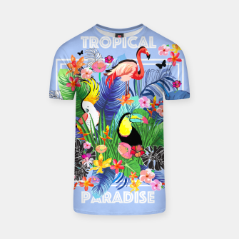Miniatur Tropical Jungle T-shirt, Live Heroes