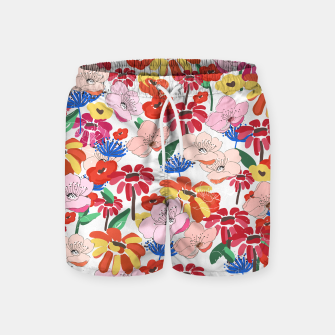 Thumbnail image of Pretty Blooms Swim Shorts, Live Heroes