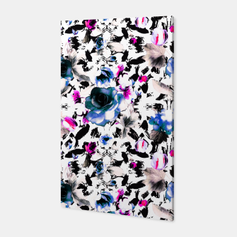 Flowery abstract strokes 2 Canvas thumbnail image