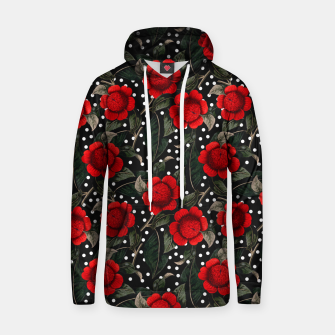 Thumbnail image of Red flowers on moles Sudadera con capucha, Live Heroes