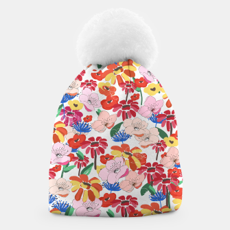 Thumbnail image of Pretty Blooms Beanie, Live Heroes