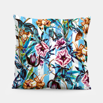 Miniaturka Floral Stripes Almohada, Live Heroes